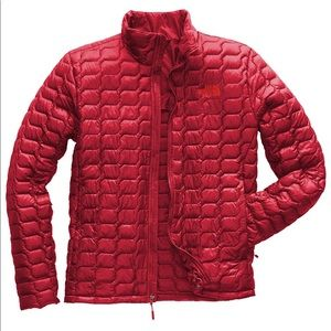 New $200 North Face Red Thermoball Full Zip Jacket